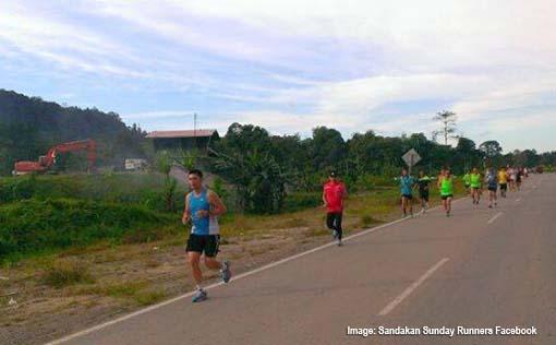 Sandakan Sunday Runners 1