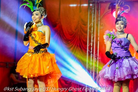 A Broadway style performance at the Hungry Ghost Festival 2