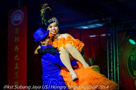 A Broadway style performance at the Hungry Ghost Festival 1