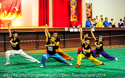 Contigent from Penang in the Group Event