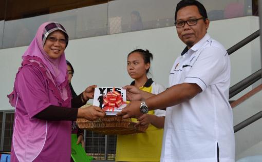 Kejohanan Sukan Tahunan SMK Taman Tun Fuad Kota Kinabalu 1