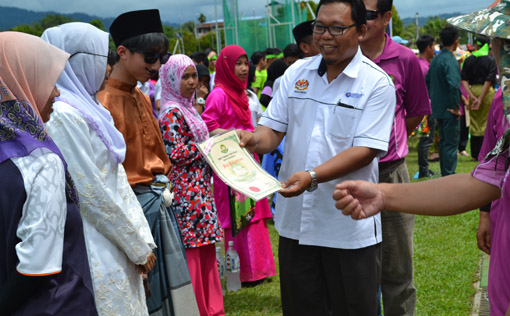 Kejohanan Sukan Tahunan SMK Taman Tun Fuad Kota Kinabalu 2