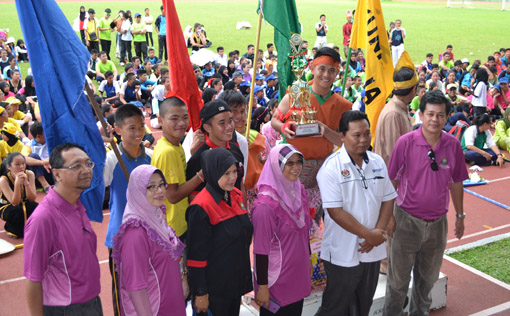 Kejohanan Sukan Tahunan SMK Taman Tun Fuad Kota Kinabalu 3