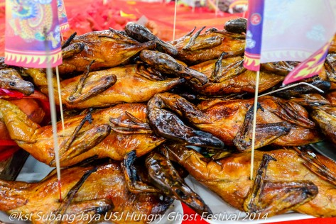 Roast ducks offerings for the Hungry Ghosts