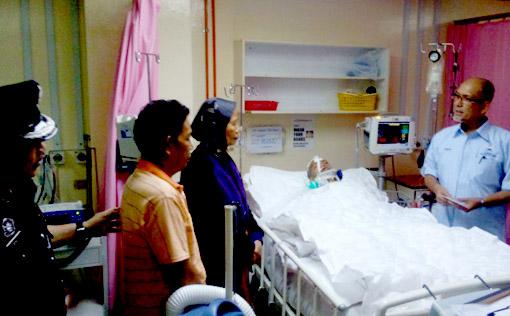 Sabah Cyber Cafe Attack Victim Klang Amir