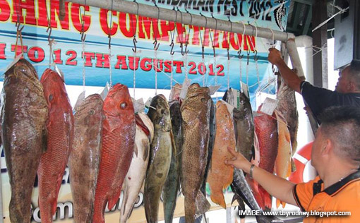Sandakan Fishing Competition