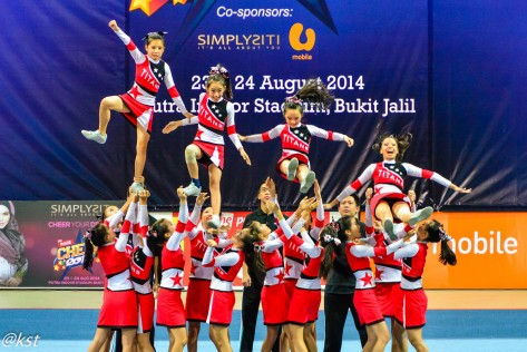 Team Titans Junior from SMK Ave Maria Convent Ipoh