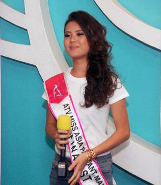 ATV Miss Asia Pageant Malaysia 2014 finalist Jasmine Soo