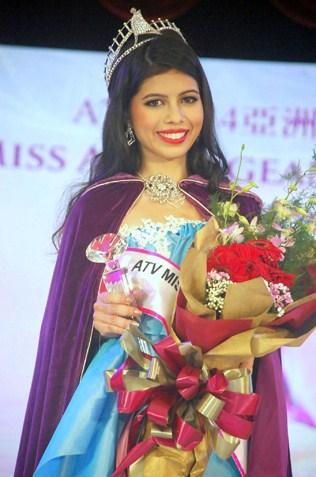 Jacinda Rae Webb - ATV Miss Asia Pageant Malaysia 2014