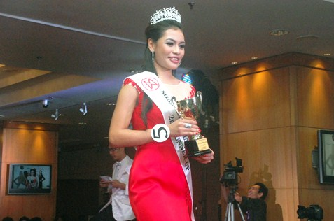 Miss Malaysia World 2014 second runner-up Cassandra Devi Jeremiah, 21