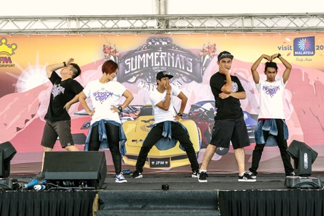 Summernats Malaysia 2014 dance competition