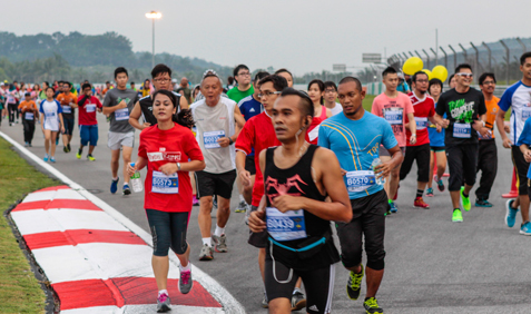 The 11.08km Merdeka Run at Summernats Malaysia 2014