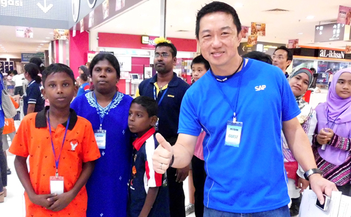 "SAP Malaysia managing director Bernard Chiang: ""By doing our part for these children, we hope this will further encourage the children to study hard to secure better futures for themselves."