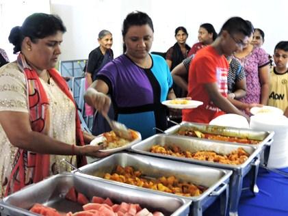 Deepavali lunch treat for Damansara Bistari flat residents