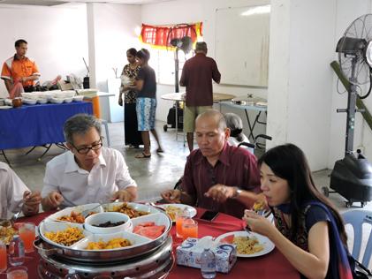 From left Tony Pua, Abdul Samad Abdul Rashid and Yeo Bee Yin