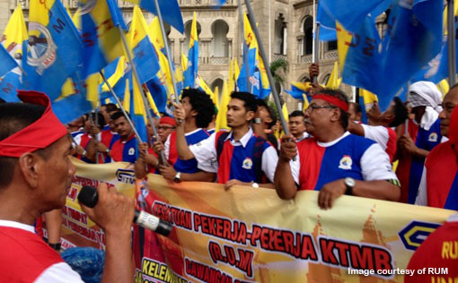 Railwayman Union Malaya Picket KTMB