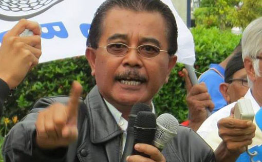 Railwayman Union Malaya Picket KTMB_Abdul Razak Md Hassan President