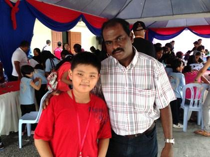 SSVP Klang Eddy Mang (left) and Robert