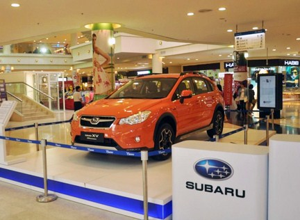 Shoppers stand a chance to win a brand new Subaru XV STI Performance SUV during the Curve's 10th anniversary campaign.