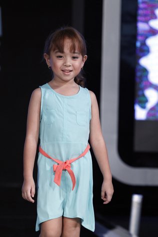 Female kid 1st runner up – Aleesya Marsandha