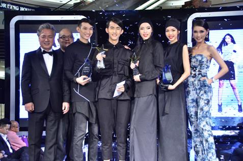 (L-R) Yang Eui-Sig, Lew Wen Feng, Anson Ang, Jayden Yen, Selin Chan, Bella Chee & Amber Chia