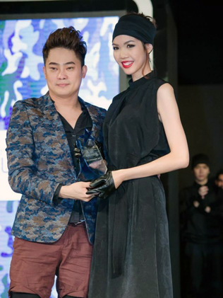 MSS creator and resident judge Benjamin Toong poses with Selin Chan