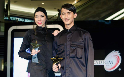 Malaysia Supermodel Search 2014 winners Selin Chan and Jayden Yen