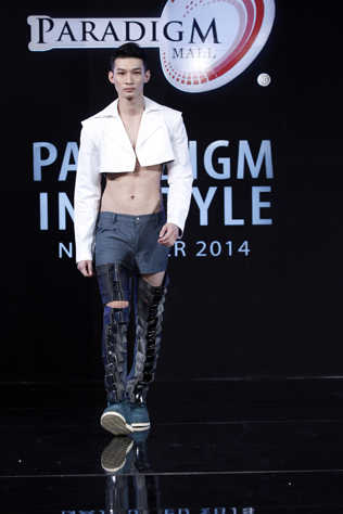 Male 1st runner up – Anson Ang