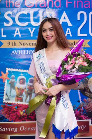 Miss Scuba Malaysia 2014 Joanne Majalap