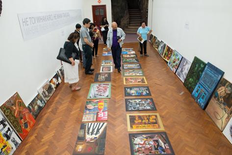 The artworks go through round of judging led UNESCO award-winning architect Laurence Loh