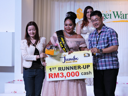 Jumbo Queen 2014 first runner-up Siti Suhana, 29, 108 kg