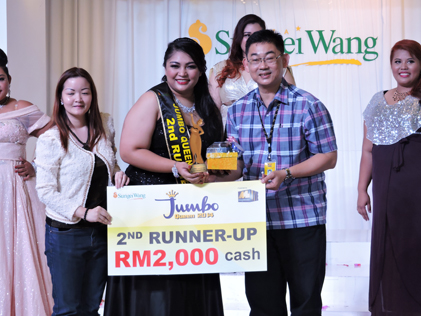 Jumbo Queen 2014 second runner-up Yasmin Nurain, 25, 106kg