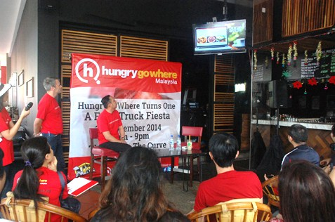 Launch of revamped HingryGoWhere Malaysia website
