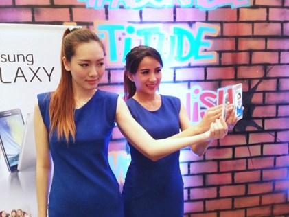 Samsung's innovative 120° wide selfie feature on the Galaxy A5 and A3 redefines user experience