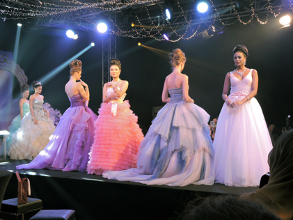 A fairy-tale themed jewellery fashion show at the launching of Diamonf Fest 2015