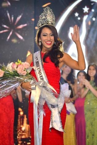 Miss Universe Malaysia 2015 Vanessa Tevi