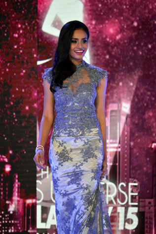 Miss Universe Malaysia 2015 third runner-up Sugeeta Chandran