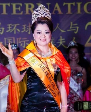 Mrs Elite Malaysia International 2015 Look Kah Hui