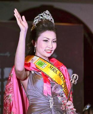 Mrs Malaysia Universe 2015 Zoe Chong Lee Lee.