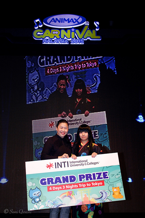 Tan Bee Chin, Winner of the Animation Competition