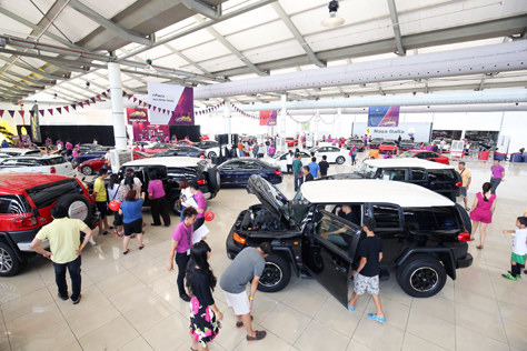 Car and motorcycle enthusiasts throng Naza World Automania 2015