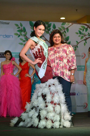 Miss KL Earth 2015 -Miss Congeniality Janice Tan