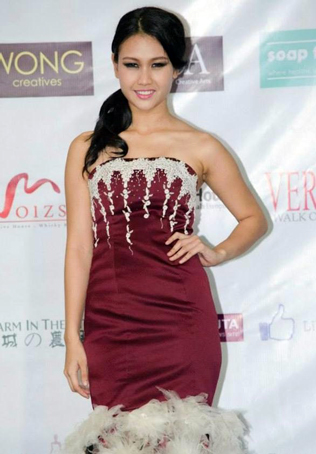 Miss KL Earth 2015 finalist Janice Tan