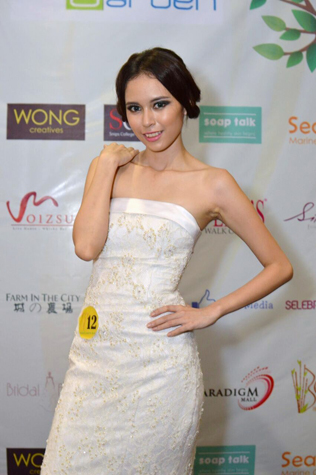 Miss KL Earth 2015 finalist Mico Oon