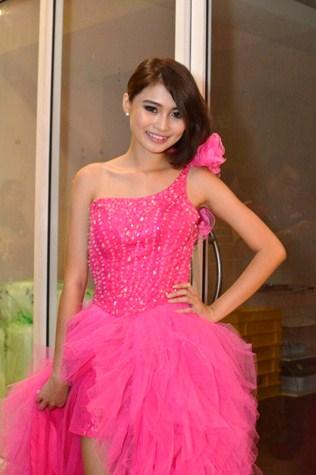 Miss KL Earth 2015 finalist Yoyo Lee