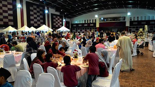 Buka Puasa feast at UPM Banquet Hall