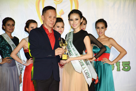 Mico Oon wins the Miss Friendship subsidiary title