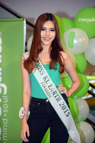 Miss KL Earth 2015 finalist Cassie Chee