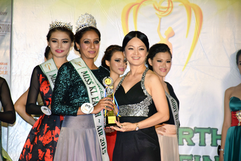 Miss KL Earth - Air 2015 Paveetha