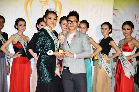 Miss KL Earth - Fire 2015 Anne Lim